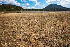 Bruine rots in zonnige dag Royalty-vrije Stock Afbeeldingen