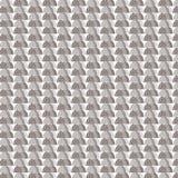 Bruine schaduw halve ronde met achtergrond van het ster de gestreepte patroon Royalty-vrije Stock Foto's