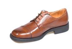Bruine schoen Royalty-vrije Stock Fotografie