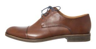 Bruine schoen Stock Afbeeldingen