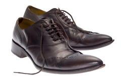 Bruine schoenen Stock Afbeeldingen