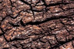 Bruine schorstextuur royalty-vrije stock afbeeldingen