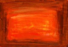 Bruine sepia verftextuur stock afbeeldingen