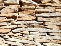 Bruine steen Royalty-vrije Stock Afbeeldingen