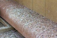 Bruine steenbank met vogel shit in Thailand Royalty-vrije Stock Fotografie