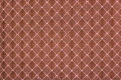 Bruine stoffentextuur Stock Fotografie