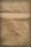 Bruine stoffentextuur Stock Foto