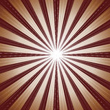 Bruine straalachtergrond Royalty-vrije Stock Afbeelding