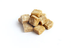 Bruine suiker Royalty-vrije Stock Afbeelding