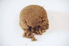 Bruine suiker Royalty-vrije Stock Foto's