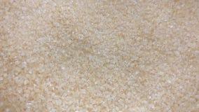 Bruine suiker stock footage