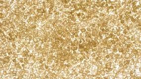 Bruine suikerkristallen stock fotografie