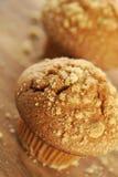 Bruine suikermuffin Stock Afbeelding