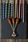 Bruine suikerstokken Royalty-vrije Stock Foto