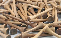 Bruine T-stukken Stock Afbeeldingen