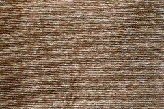 Bruine tapijttextuur Stock Afbeeldingen