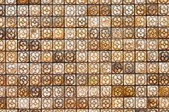 Bruine Tegel Royalty-vrije Stock Afbeelding