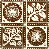 Bruine Tegel stock afbeeldingen