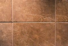 Bruine tegels royalty-vrije stock foto
