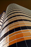 Bruine towerblock Stock Fotografie