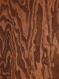 Bruine triplex abstracte houten textuur Royalty-vrije Stock Fotografie