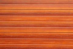Bruine van de het blindgarage van de staalrol de deurachtergrond royalty-vrije stock fotografie