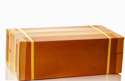 Bruine Verpakkingsdoos Stock Afbeeldingen