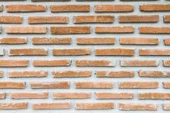 Bruine wijnoogst brickwall Stock Afbeeldingen
