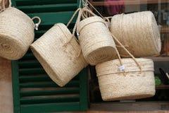 Bruine zakken Royalty-vrije Stock Fotografie