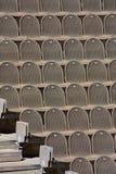 Bruine zetels Royalty-vrije Stock Foto