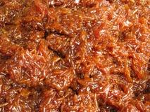 Bruine zoete glutineuze rijst Stock Afbeeldingen