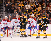 Bruins Canadiens Rivalry Royalty Free Stock Image