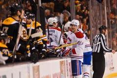 Bruins -- Canadiens Rivalry NHL Hockey Stock Photos