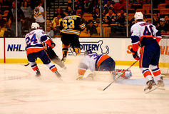 Bruins -- Islanders game Royalty Free Stock Image
