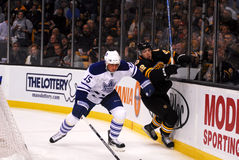 Bruins - Leafs NHL Hockey, Oct 28, 2010 Stock Image