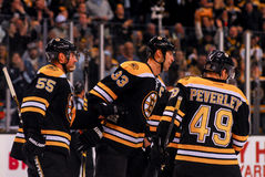 Bruins score. Royalty Free Stock Image