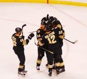 Bruins score! NHL Hockey Stock Photos