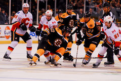 Bruins v. Calgary Flames (NHL) Stock Photo