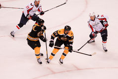 Bruins v. Capitals, 2012 Playoffs. Stock Photos