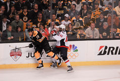 Bruins v. Capitals, 2012 Playoffs. Stock Images