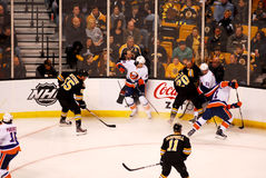 Bruins v. Islanders March 3, 2012 Royalty Free Stock Photography