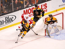 Bruins v. Red Wings Royalty Free Stock Images