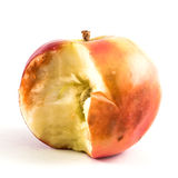 Bruised apple Royalty Free Stock Image