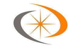 Bruissement Logo Design Template d'étoile Images stock
