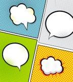 Bruit Art Background Vector de bulle de la parole Illustration Libre de Droits