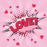Bruit Art Love Valentine Card Photographie stock libre de droits