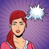 Bruit Art Woman illustration libre de droits