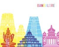 Bruit d'horizon de Bangalore illustration libre de droits
