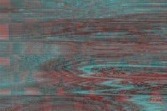 Bruit d'objet façonné de fond de problème de VHS, déformation illustration de vecteur