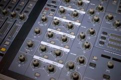 Bruit de contrôleur et équipement de lumière Photo stock